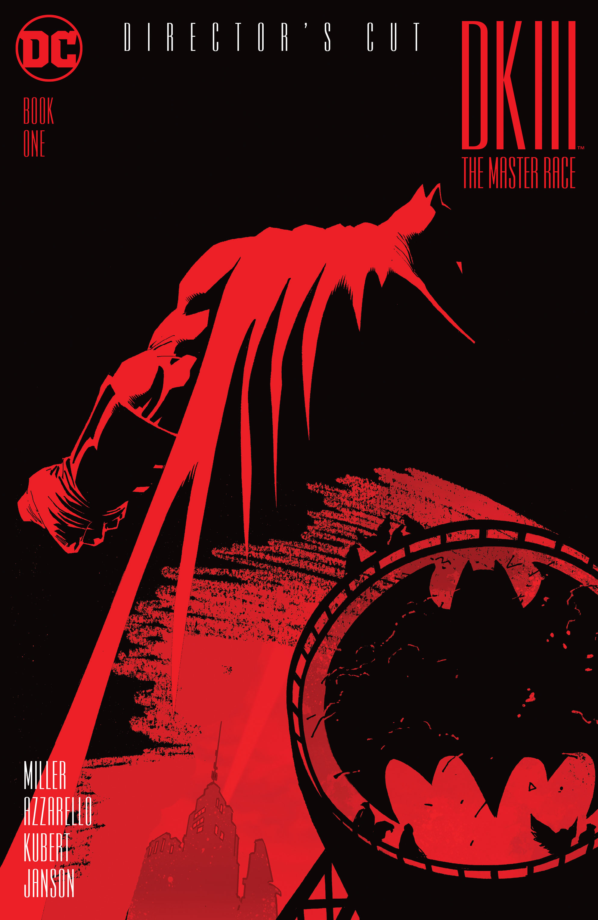 Dark Knight III: The Master Race Directors Cut Full Page 1
