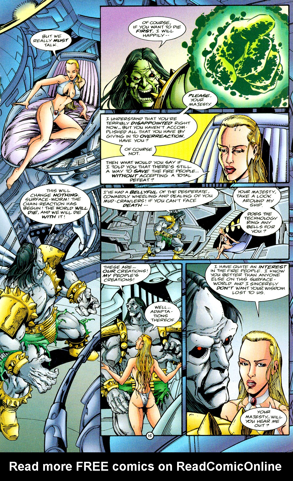 Read online UltraForce (1994) comic -  Issue #6 - 15