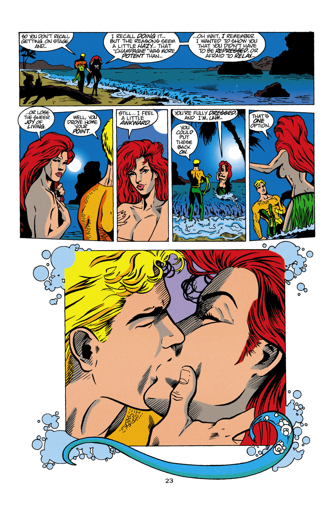 Read online Aquaman (1994) comic -  Issue #Aquaman (1994) _Annual 1 - 24