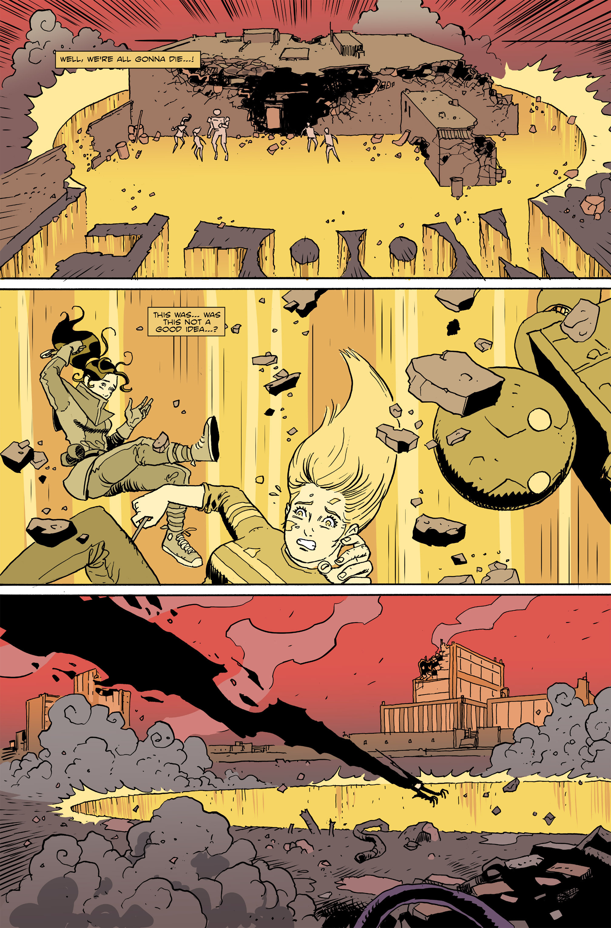 Read online Amelia Cole Versus The End of Everything comic -  Issue #26 - 10