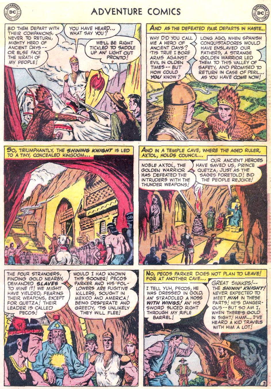 Read online Adventure Comics (1938) comic -  Issue #166 - 16