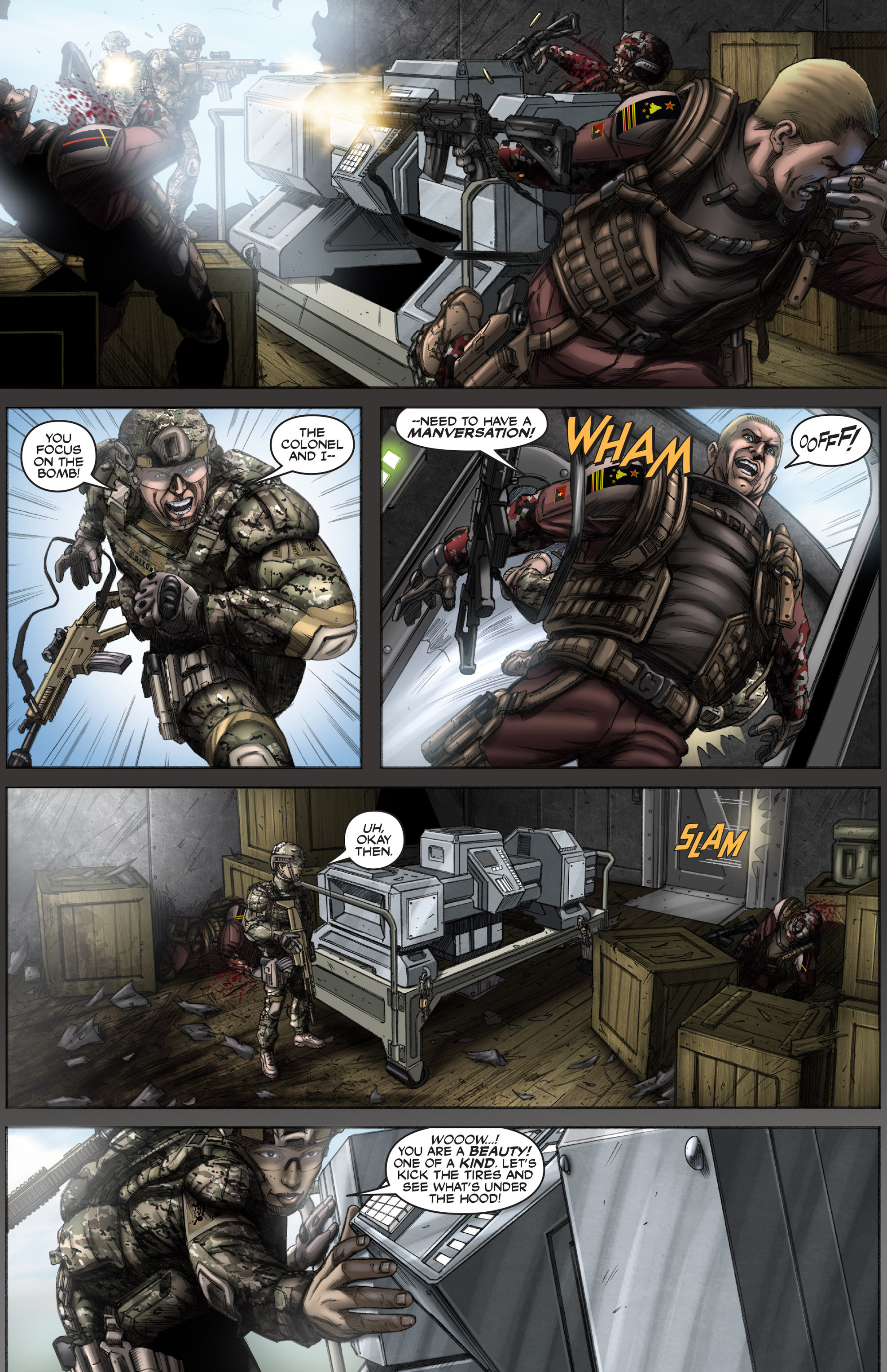 Read online America's Army comic -  Issue #12 - 16