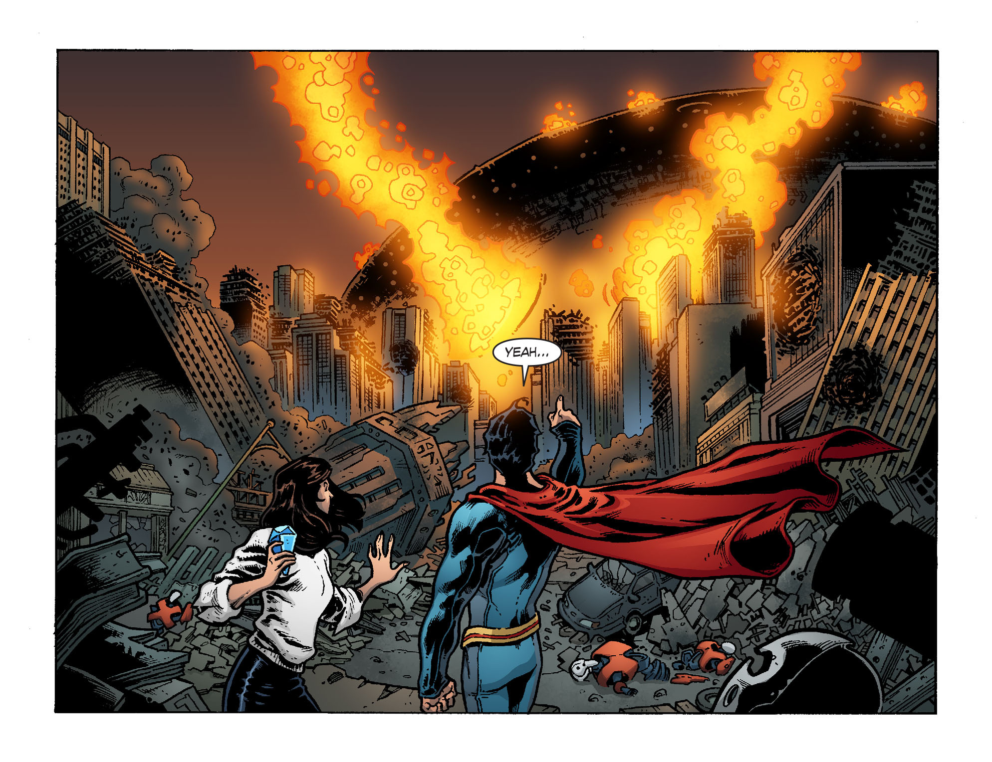 Read online Smallville: Chaos [II] comic -  Issue #6 - 21