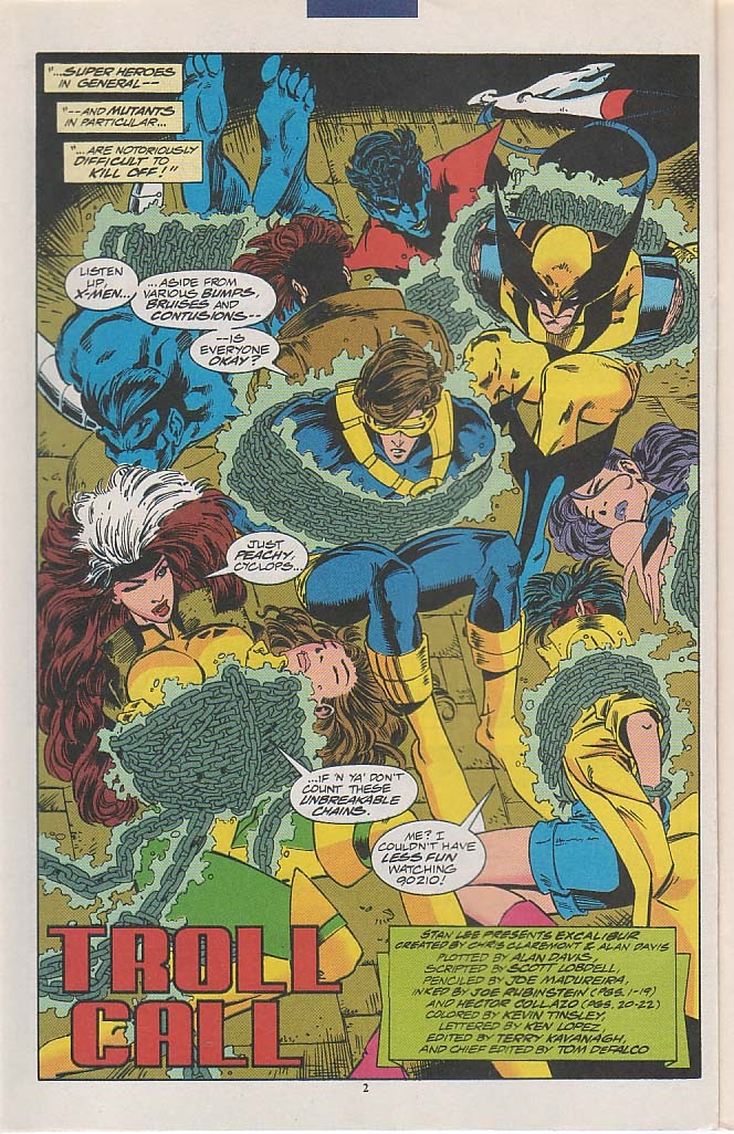 Excalibur (1988) issue 58 - Page 3