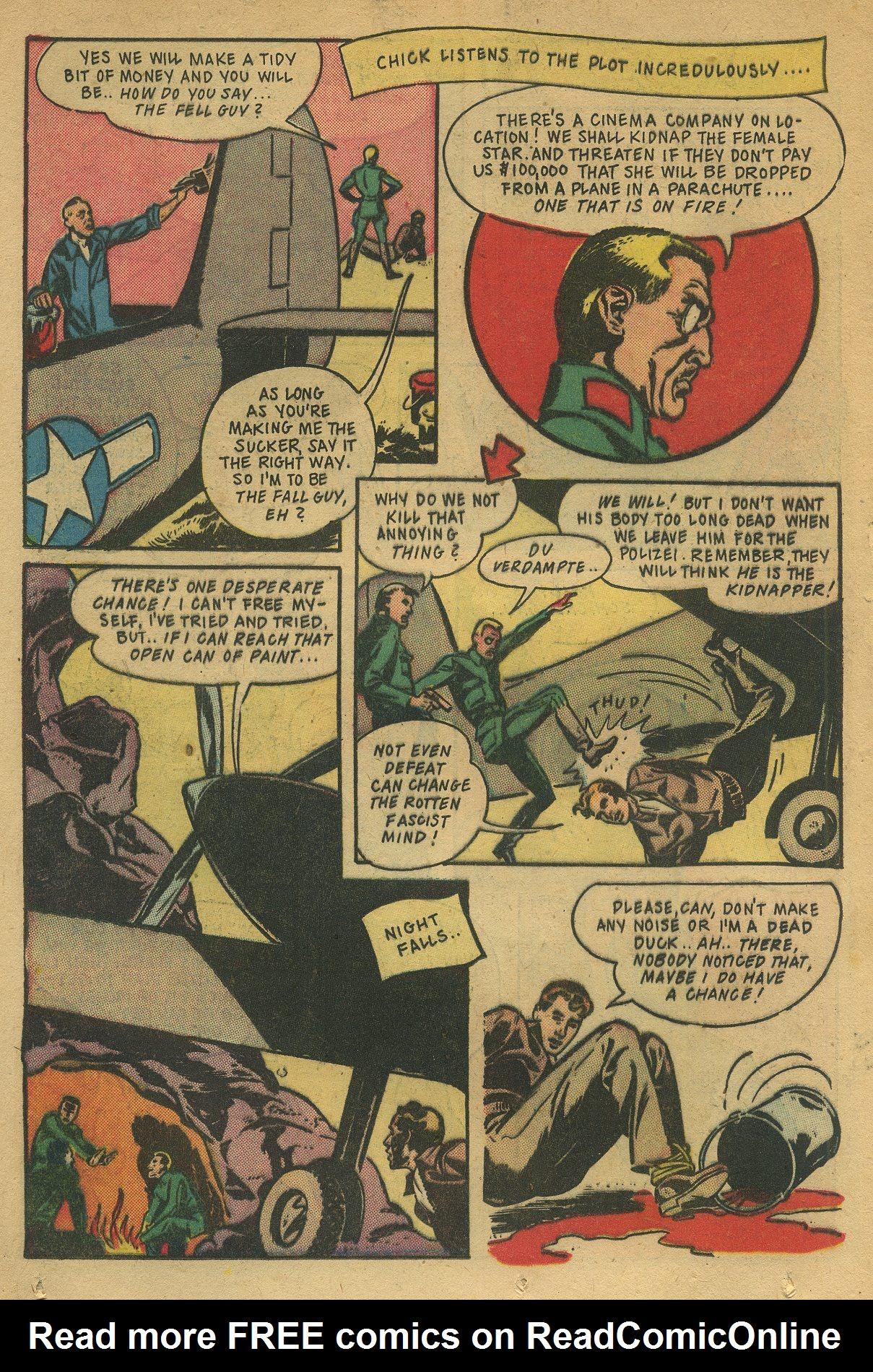 Read online Shadow Comics comic -  Issue #49 - 28