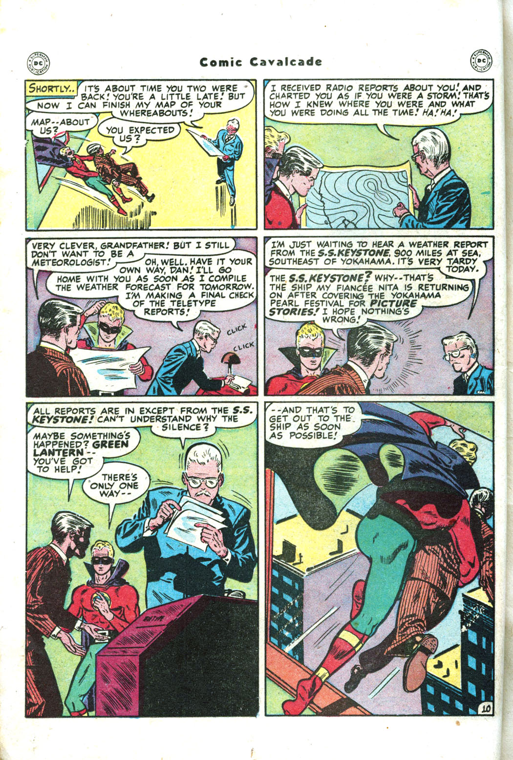 Comic Cavalcade issue 26 - Page 36