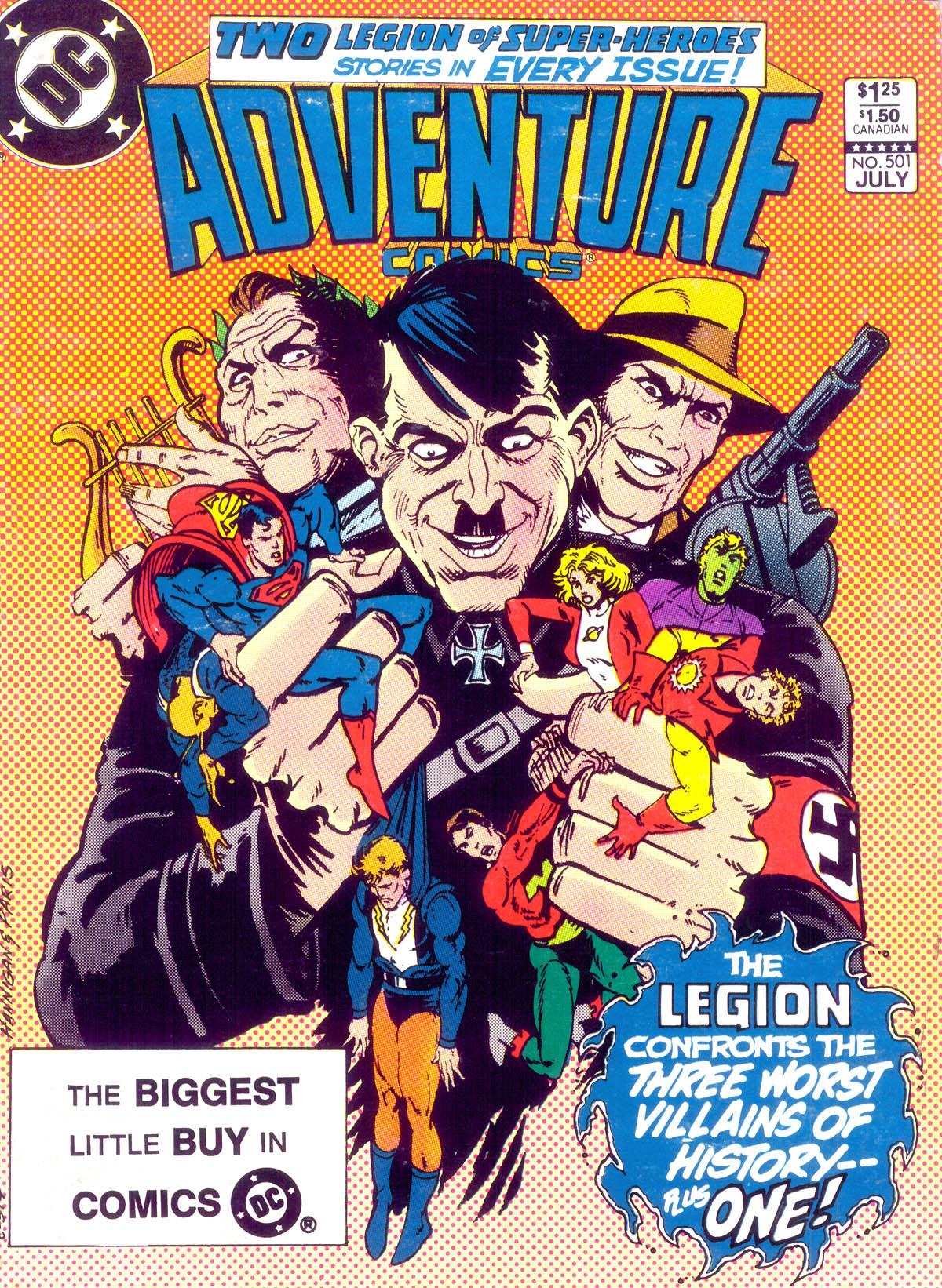 Read online Adventure Comics (1938) comic -  Issue #501 - 1