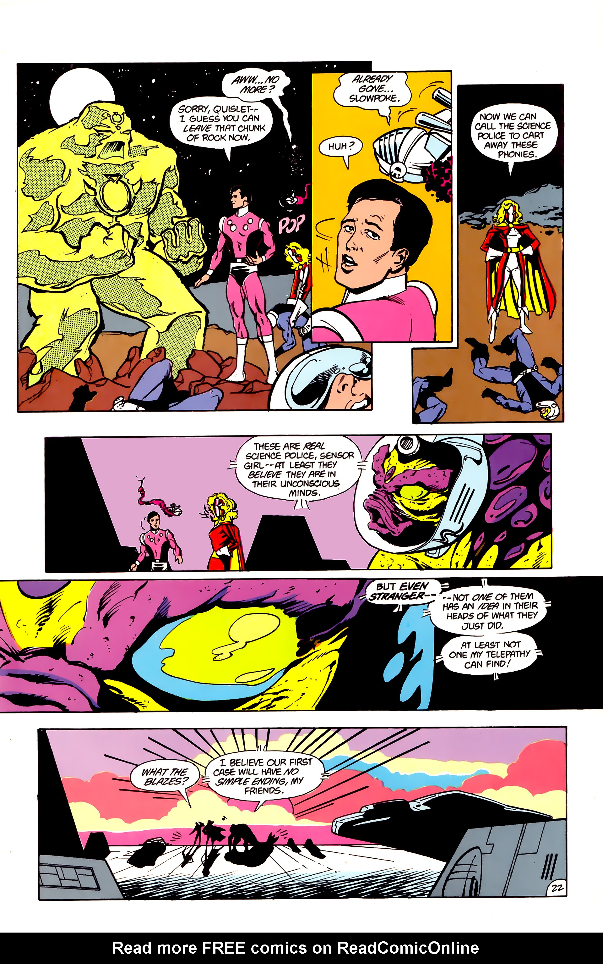 Legion of Super-Heroes (1984) 16 Page 23