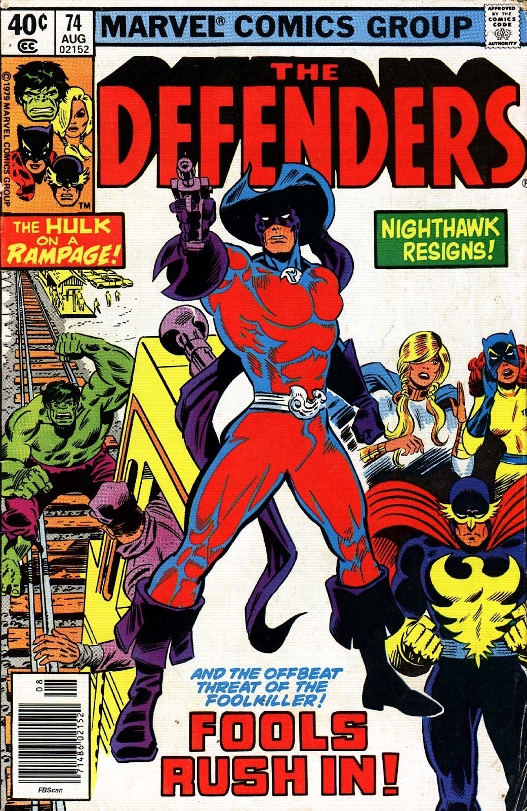 The Defenders (1972) 74 Page 1