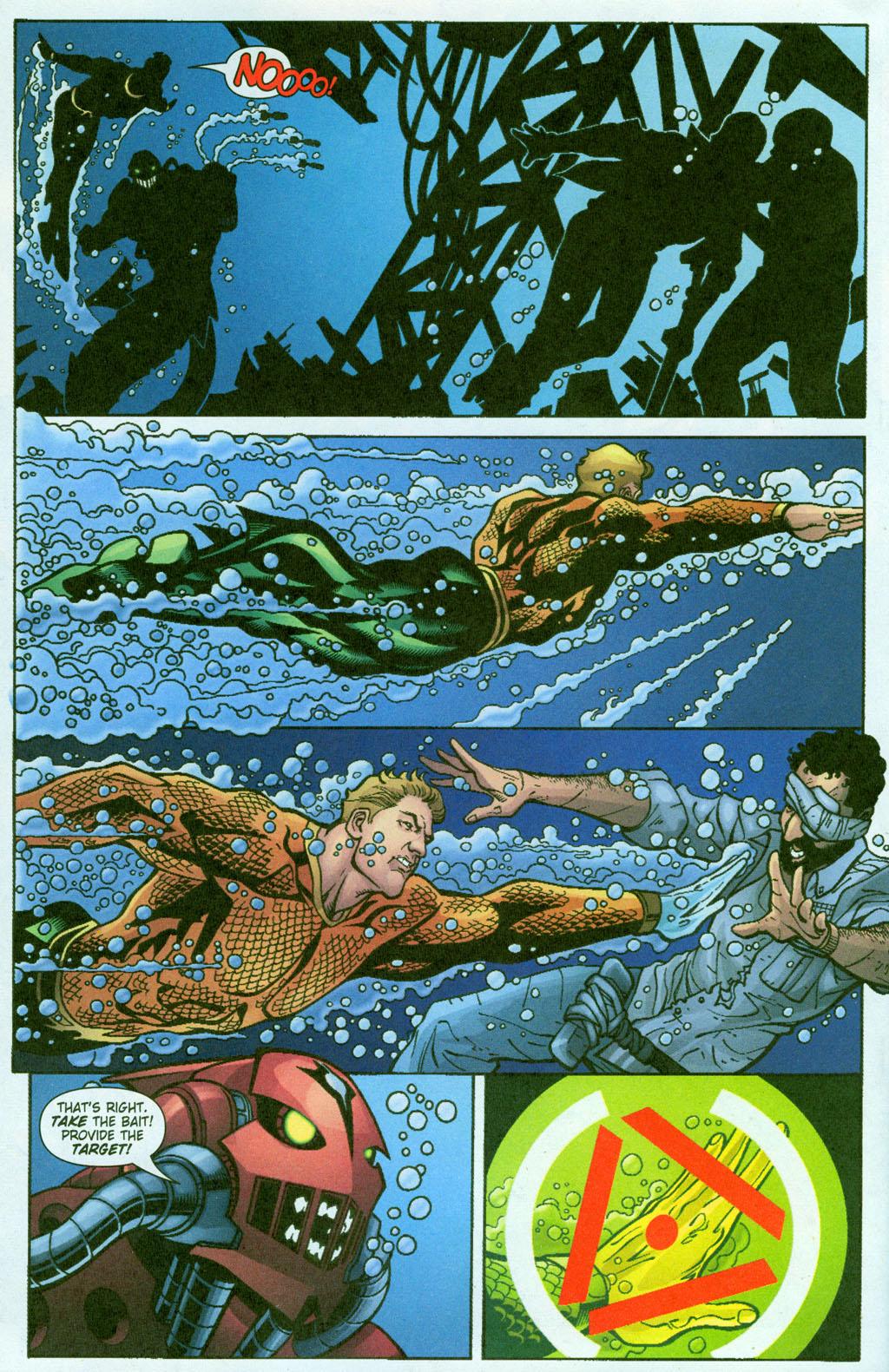 Read online Aquaman (2003) comic -  Issue #23 - 21