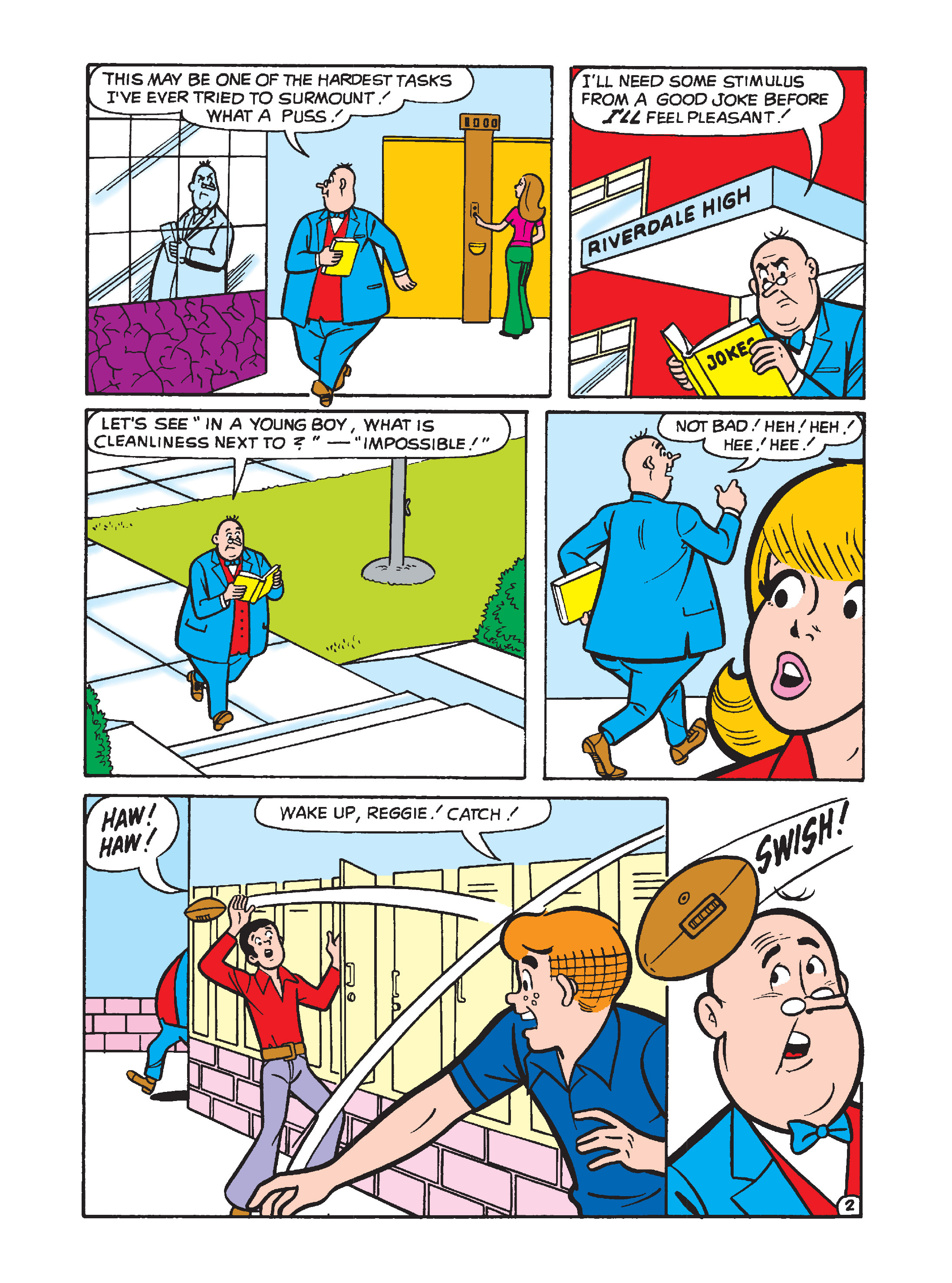 Read online Archie's Funhouse Double Digest comic -  Issue #1 - 139