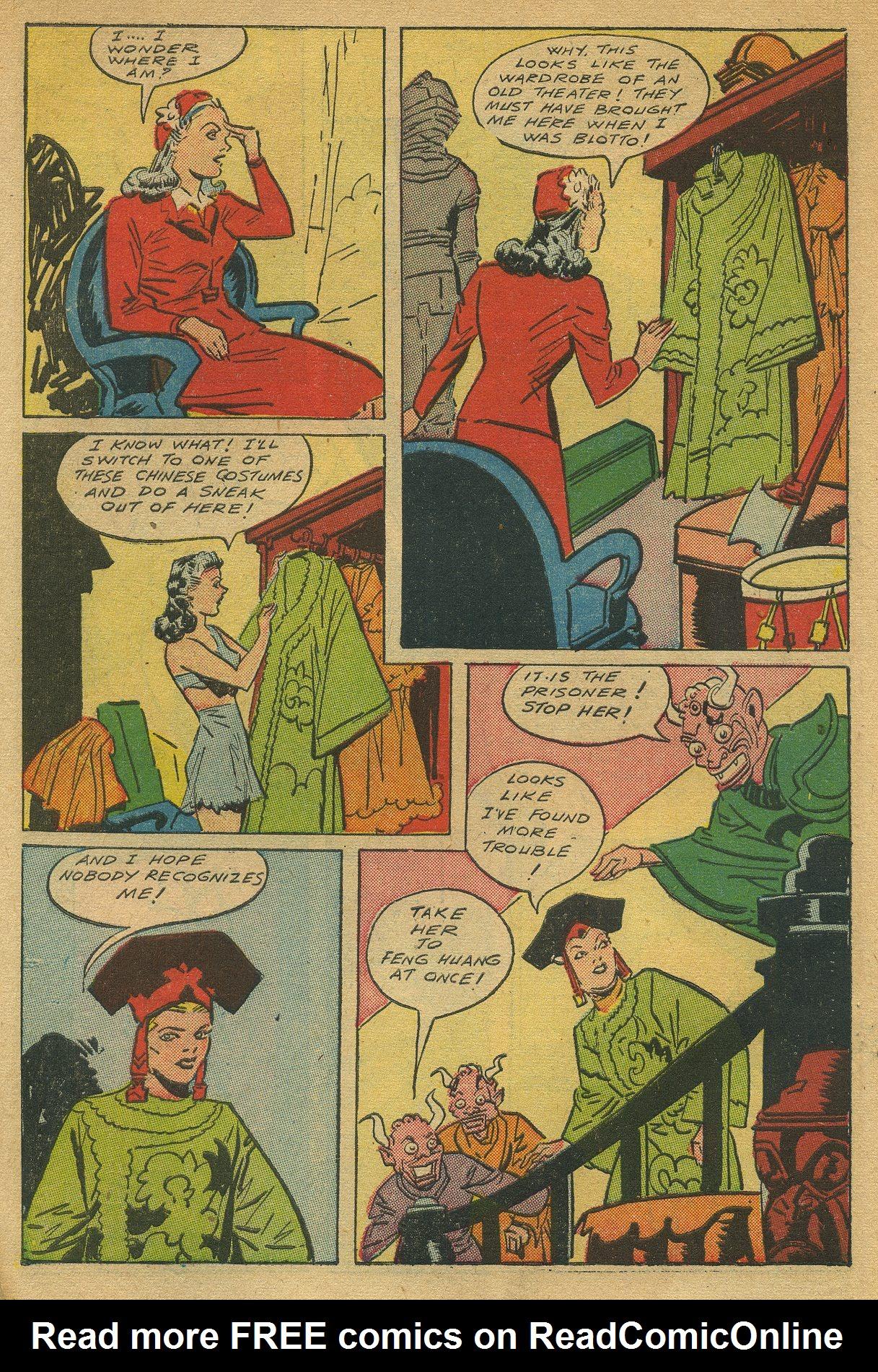Read online Shadow Comics comic -  Issue #49 - 10