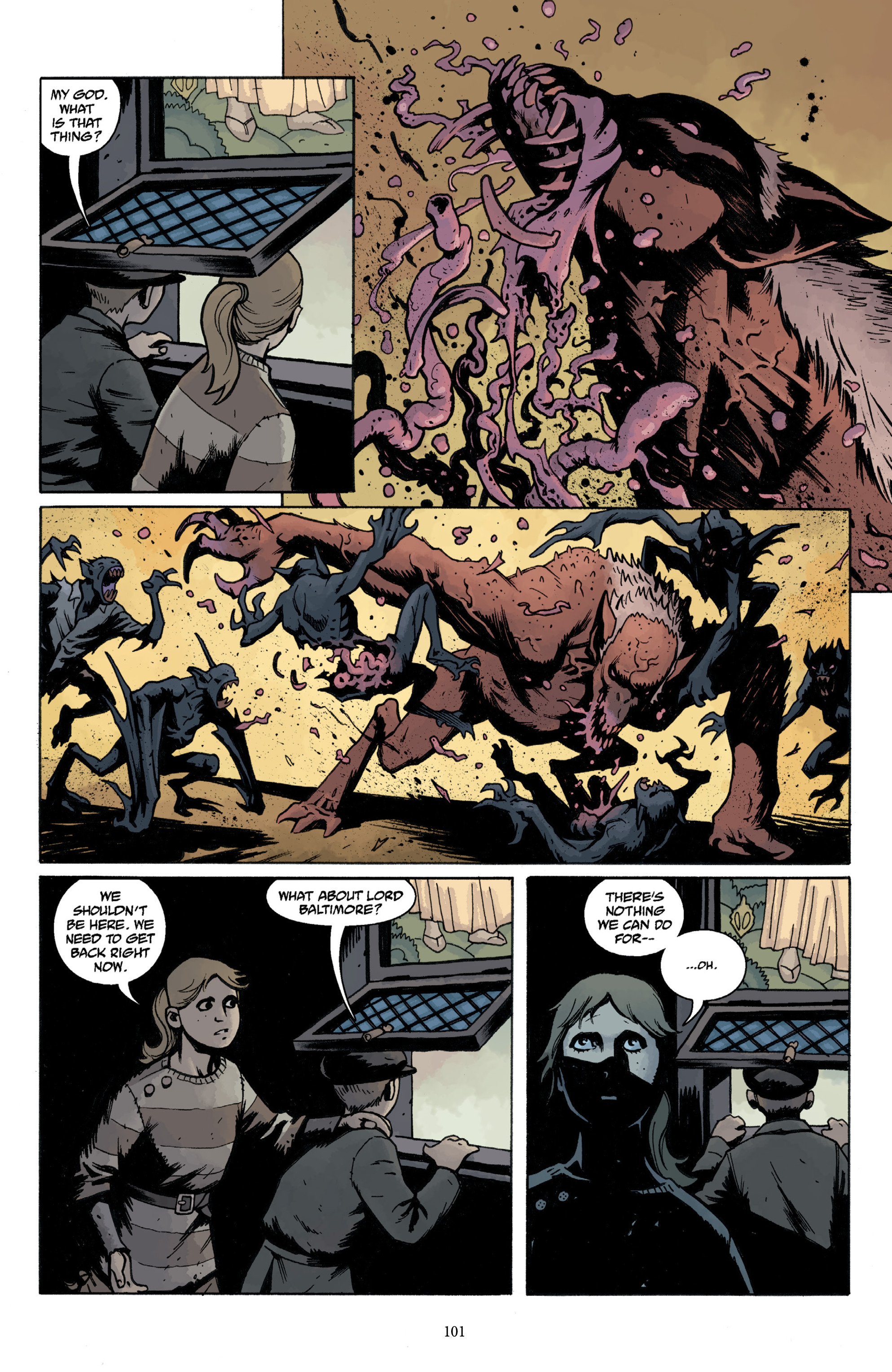 Read online Baltimore Volume 3: A Passing Stranger and Other Stories comic -  Issue # Full - 103