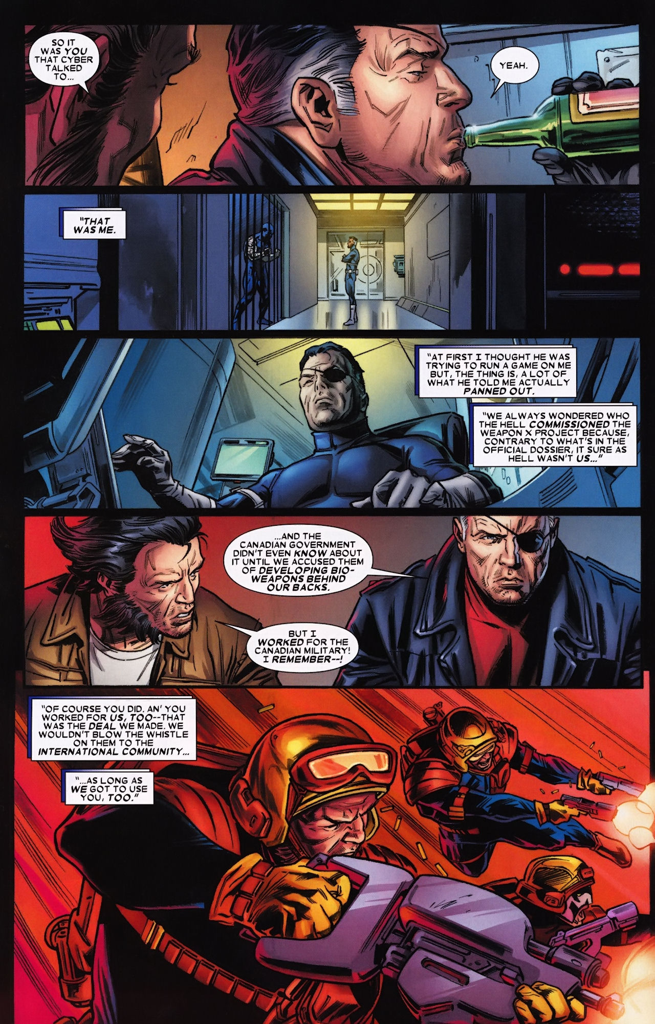 Read online Wolverine: Origins comic -  Issue #33 - 5