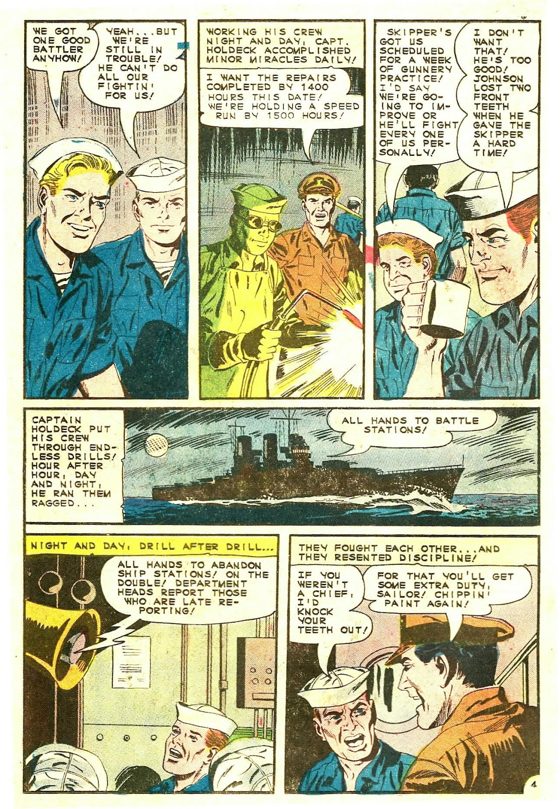 Read online Fightin' Navy comic -  Issue #123 - 18