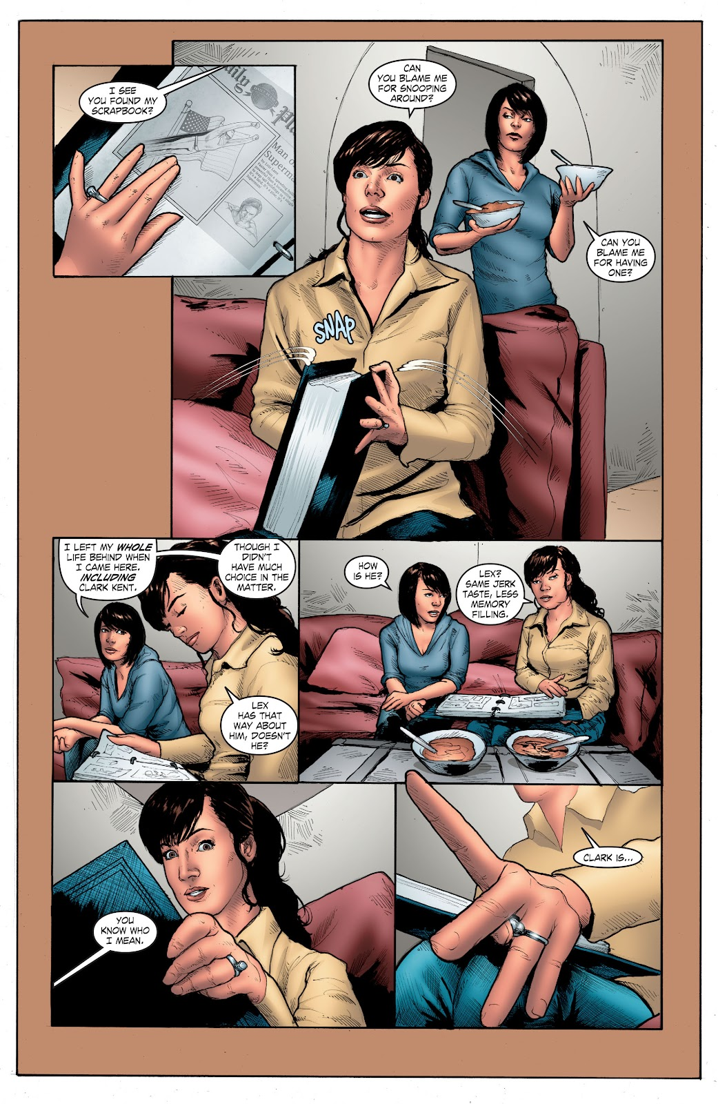 Read online Smallville Season 11 [II] comic -  Issue # TPB 4 - 123