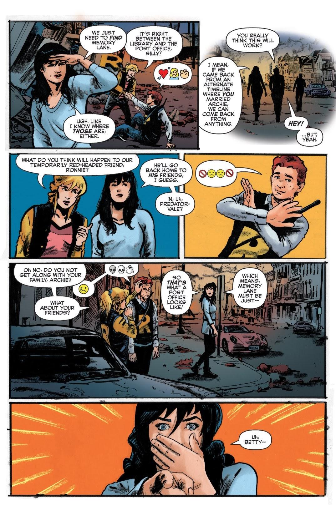 Archie vs. Predator II #1 #1 - English 6