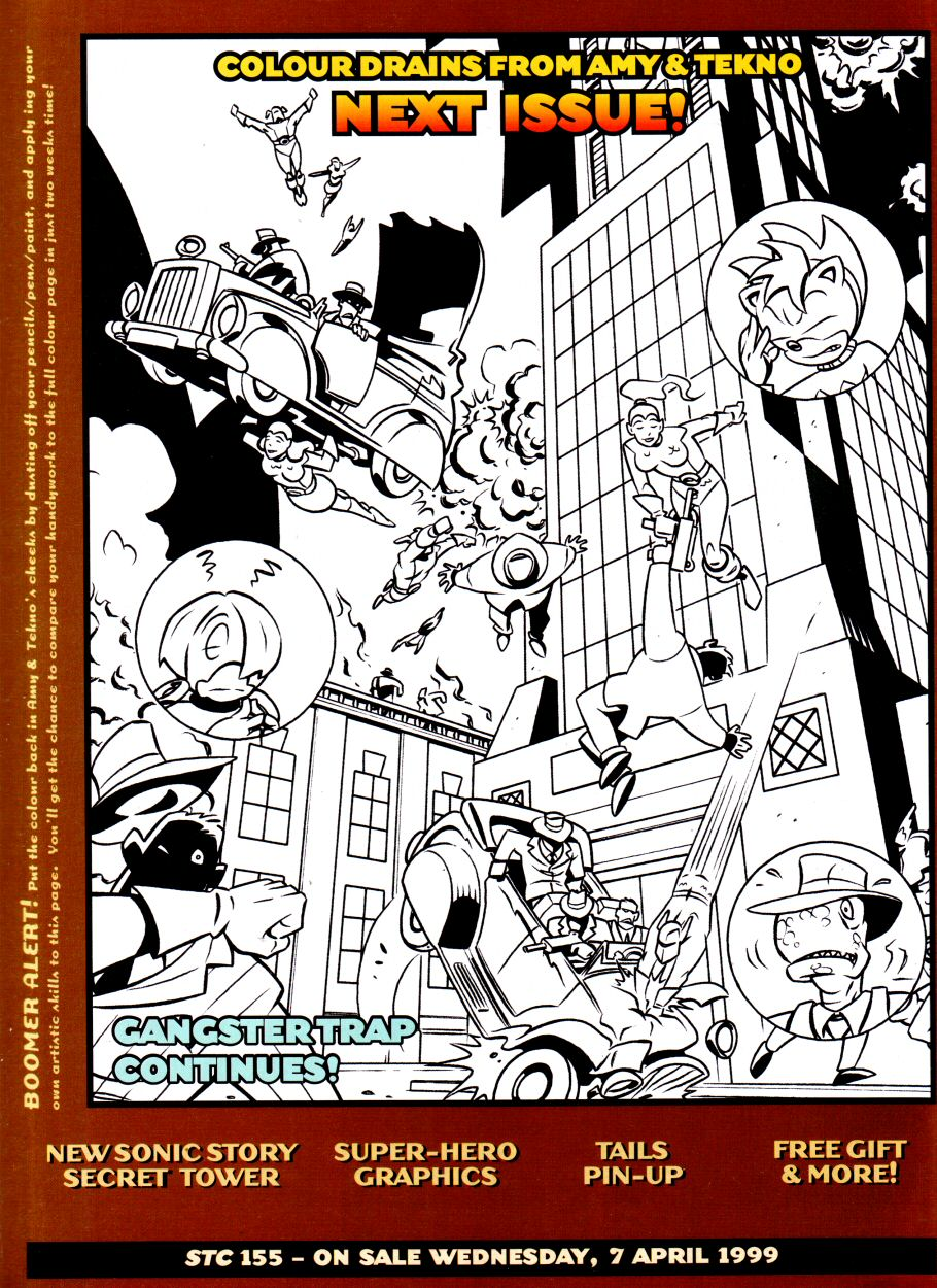 Read online Sonic the Comic comic -  Issue #154 - 21