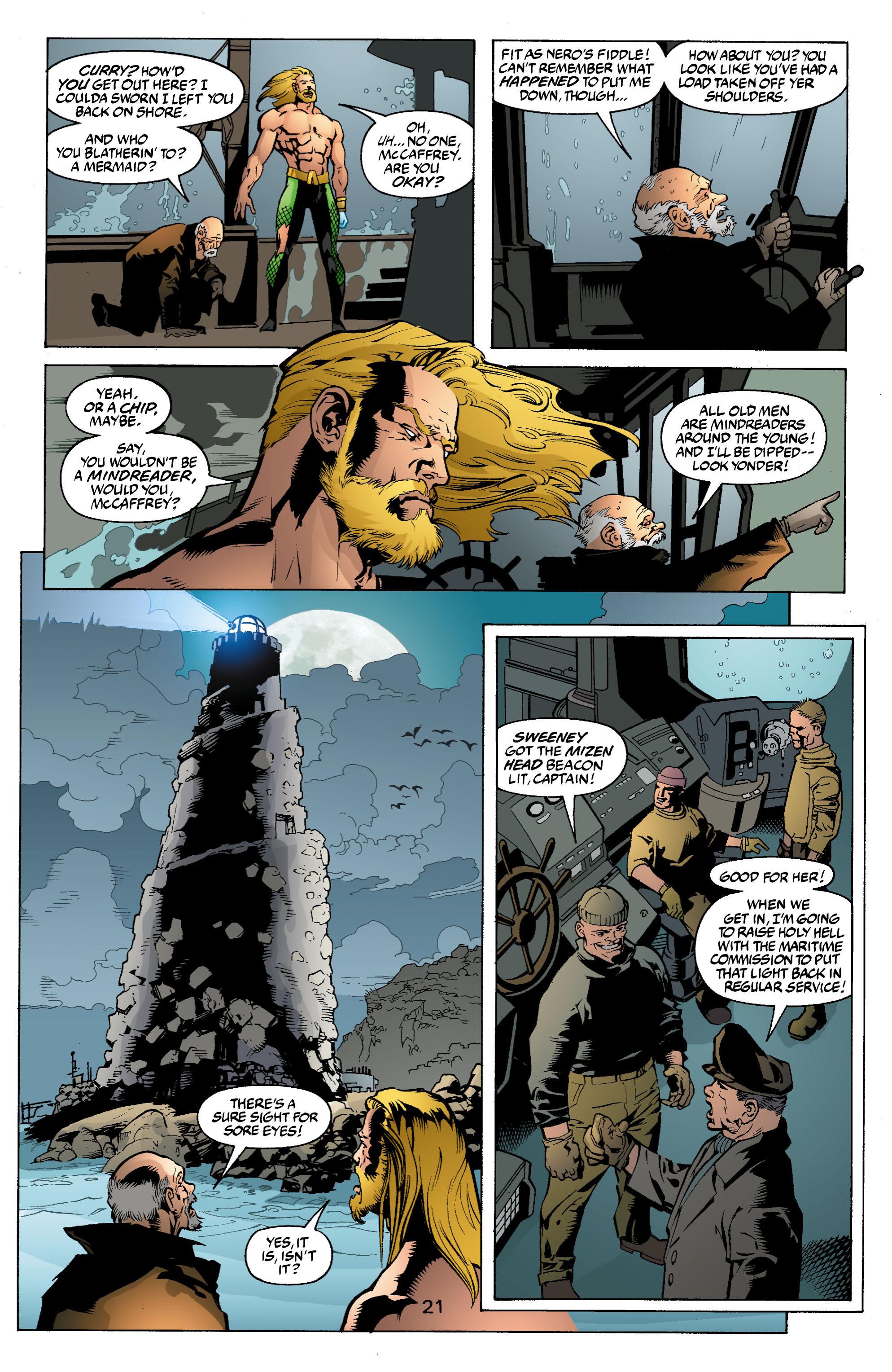 Read online Aquaman (2003) comic -  Issue #2 - 22