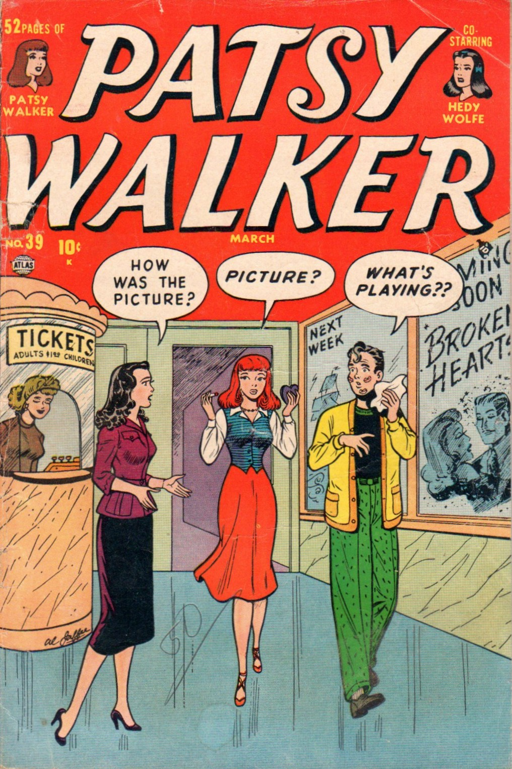 Patsy Walker 39 Page 1