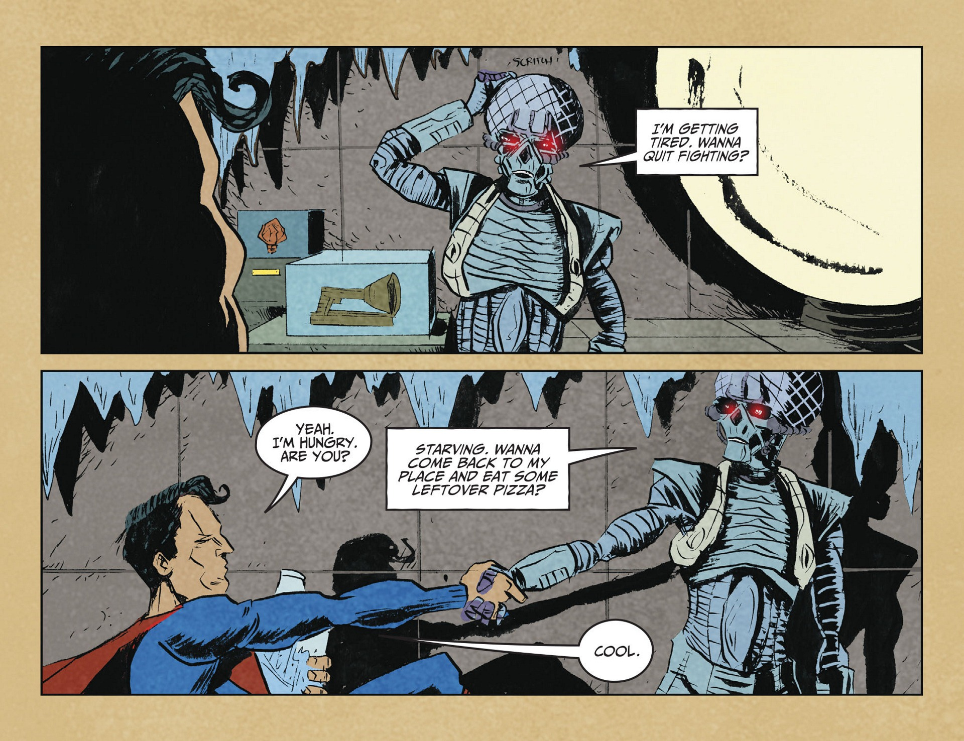 Read online Adventures of Superman [I] comic -  Issue #2 - 18
