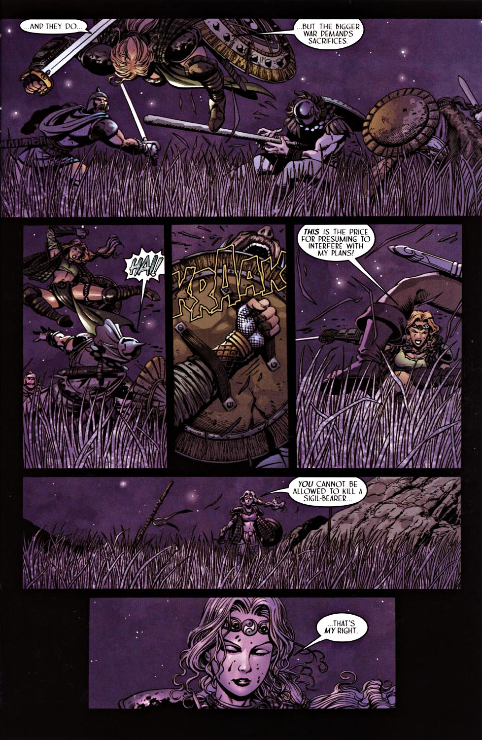 Read online Solus comic -  Issue #3 - 9
