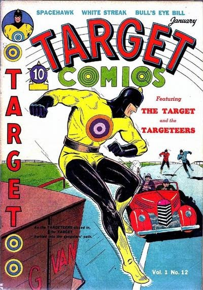 Target Comics 12 Page 1