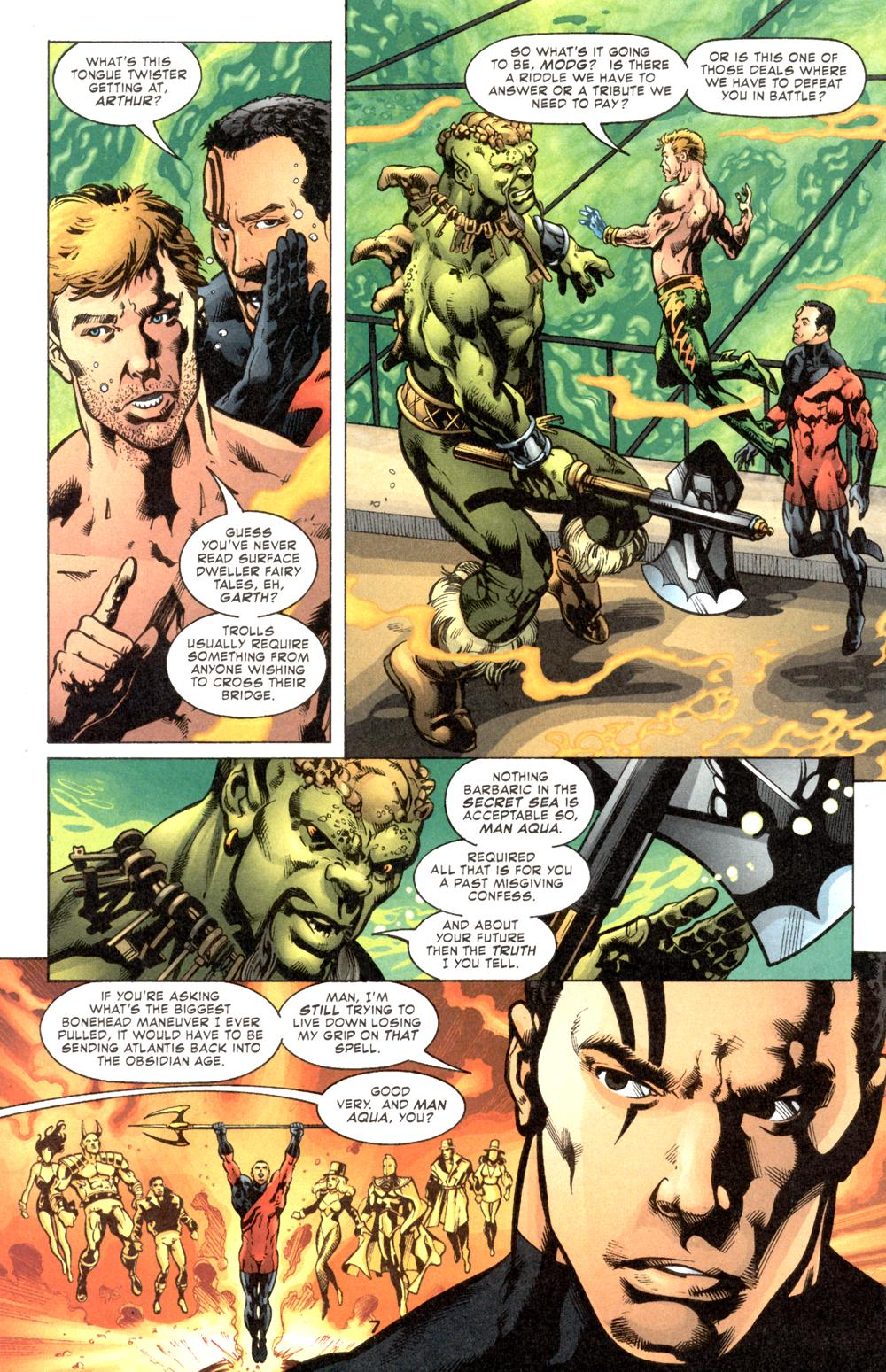 Read online Aquaman (2003) comic -  Issue #6 - 9