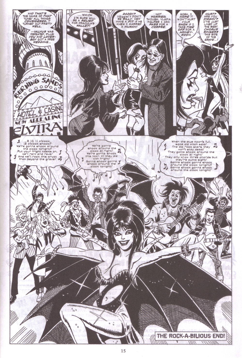 Read online Elvira, Mistress of the Dark comic -  Issue #127 - 17