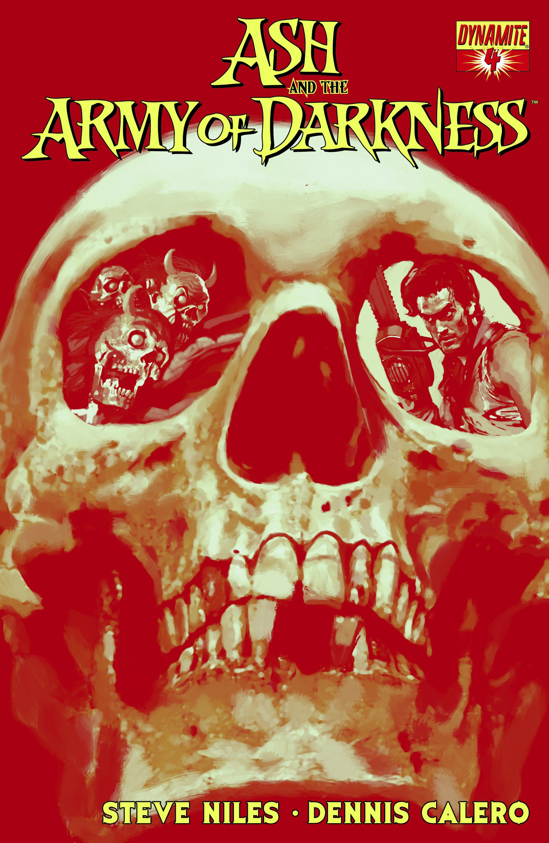 Read online Ash and the Army of Darkness comic -  Issue #4 - 1