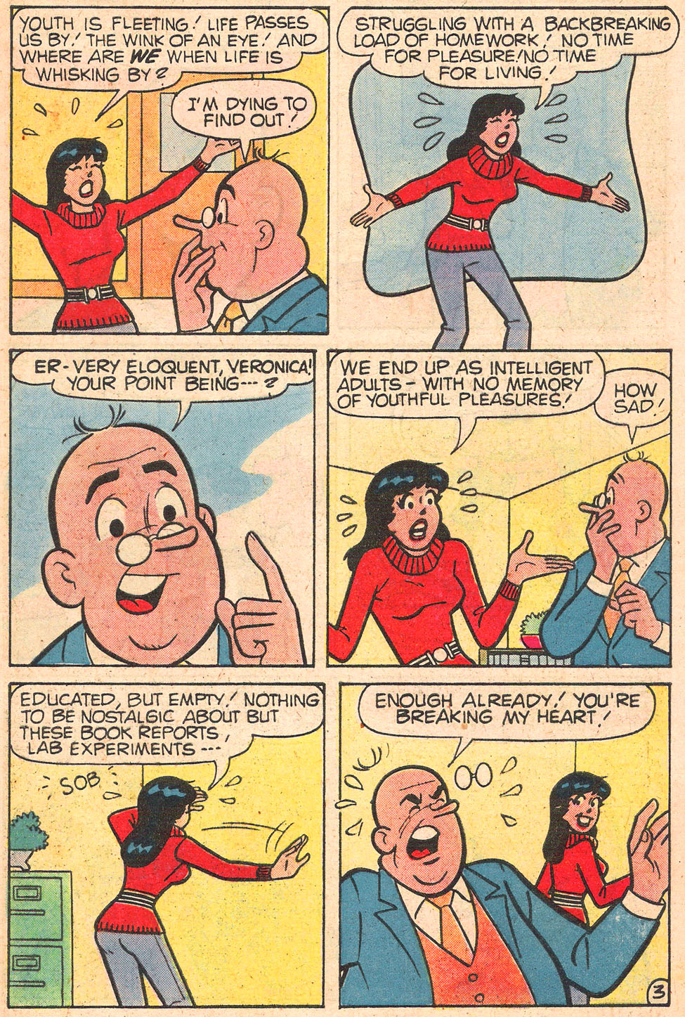 Read online Archie's Girls Betty and Veronica comic -  Issue #289 - 5