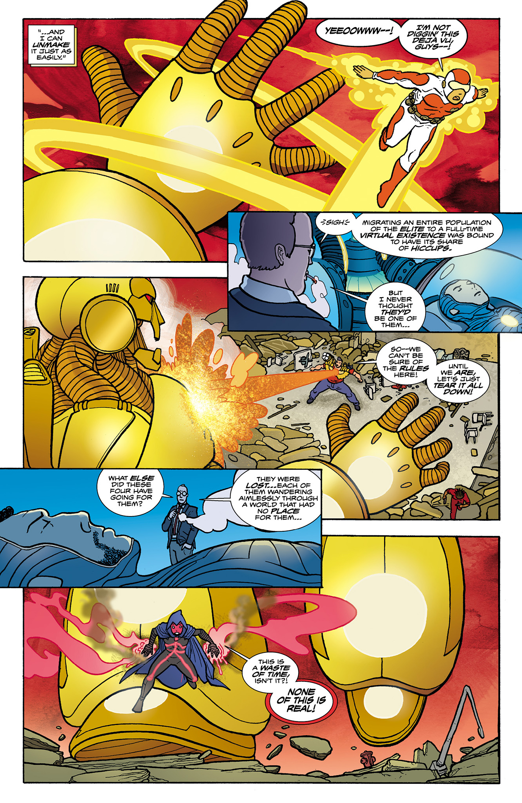 Read online Catalyst Comix comic -  Issue #8 - 11