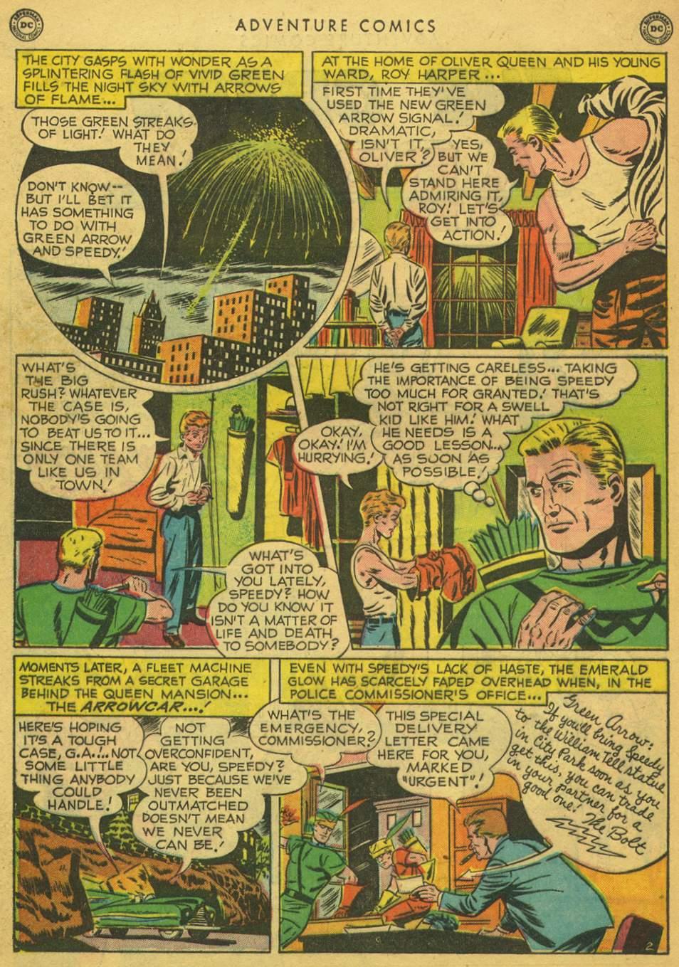 Read online Adventure Comics (1938) comic -  Issue #164 - 40