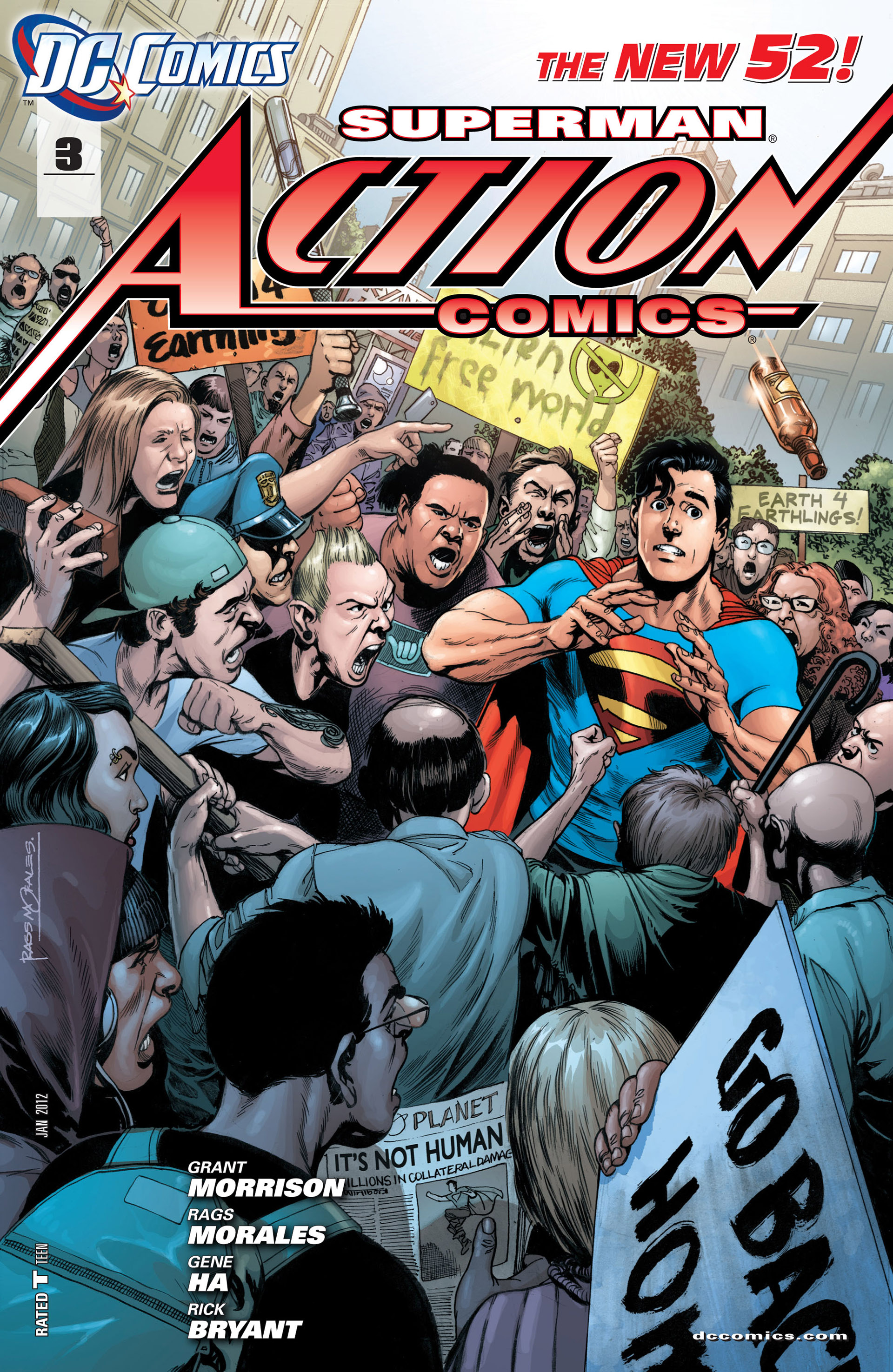 Read online Action Comics (2011) comic -  Issue #3 - 1