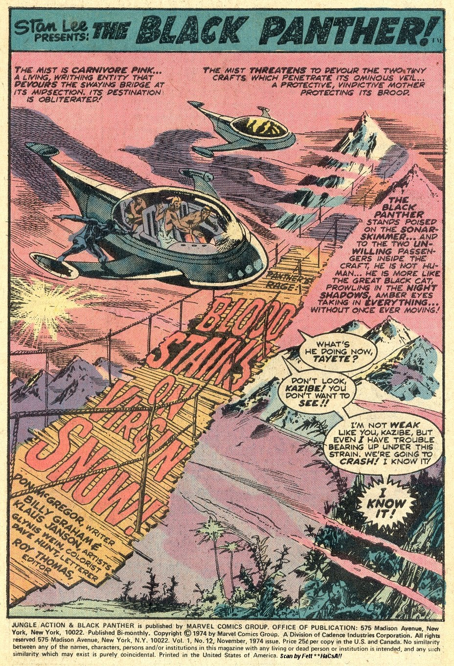 Jungle Action (1972) issue 12 - Page 3