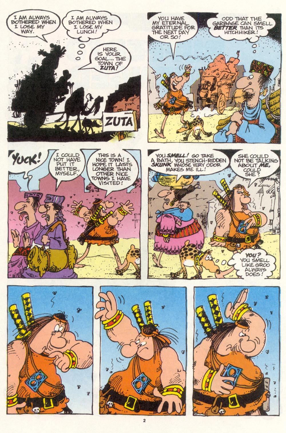 Read online Sergio Aragonés Groo the Wanderer comic -  Issue #112 - 4