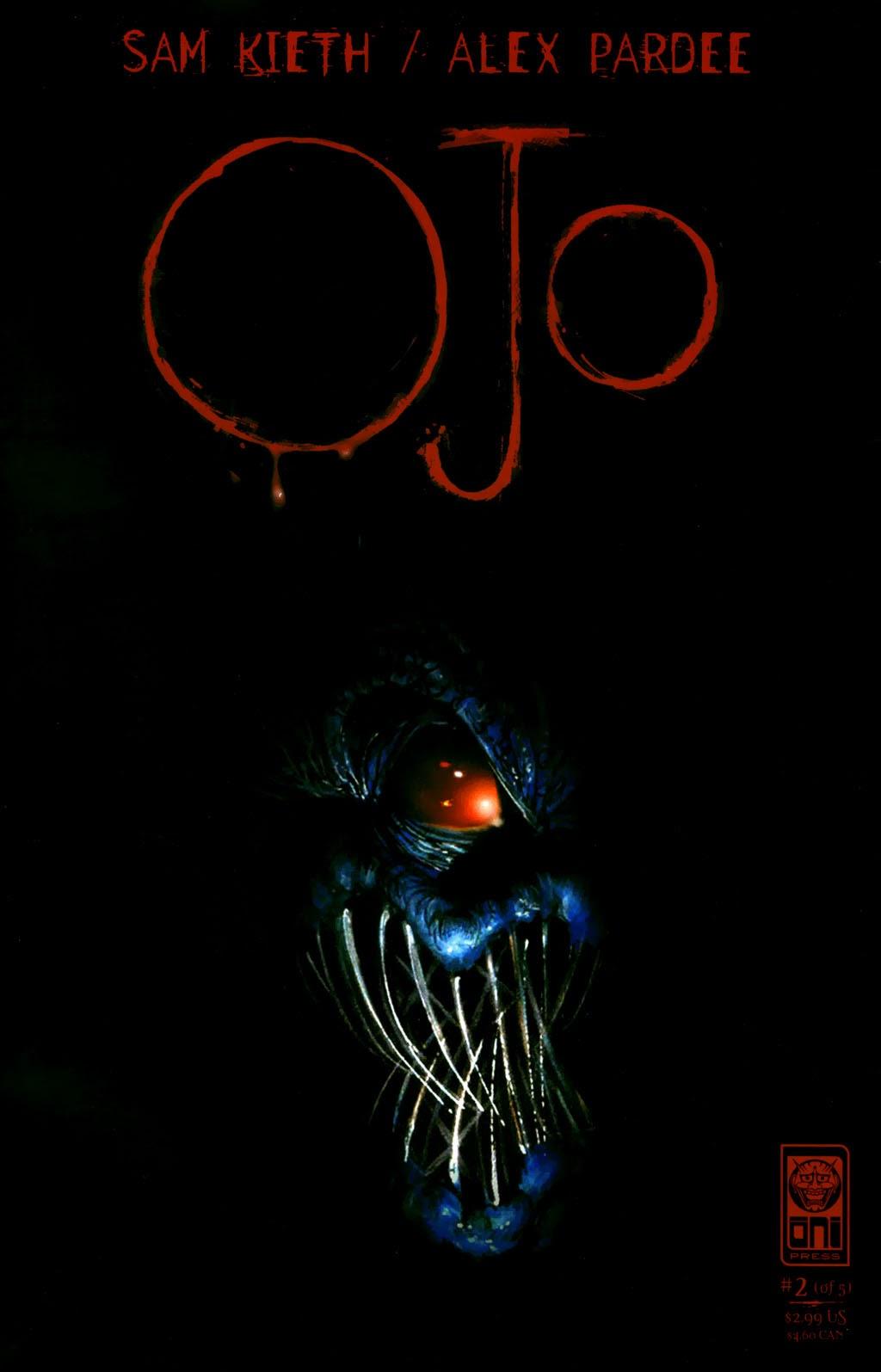 Read online Ojo comic -  Issue #2 - 1
