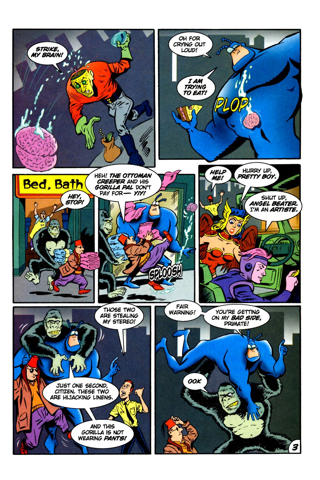 Read online The Tick: Days of Drama comic -  Issue #2 - 5