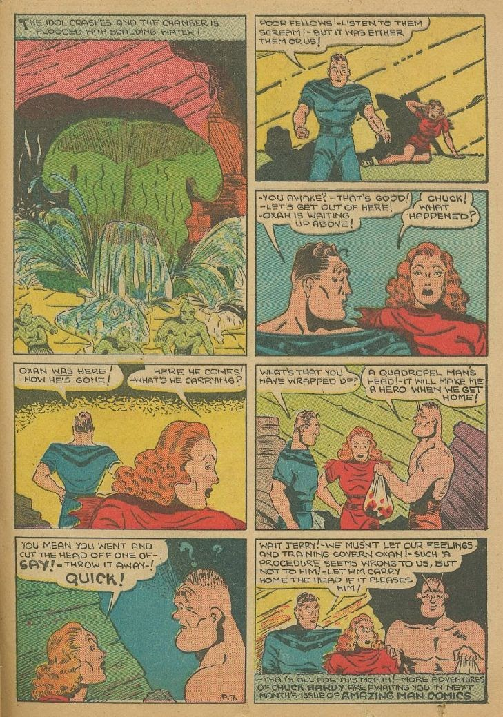 Read online Amazing Man Comics comic -  Issue #9 - 50