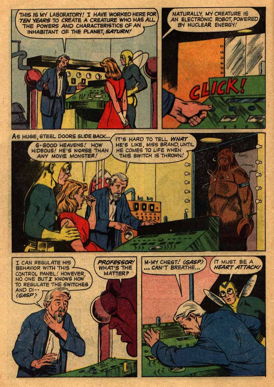 Adventures of the Fly issue 13 - Page 16