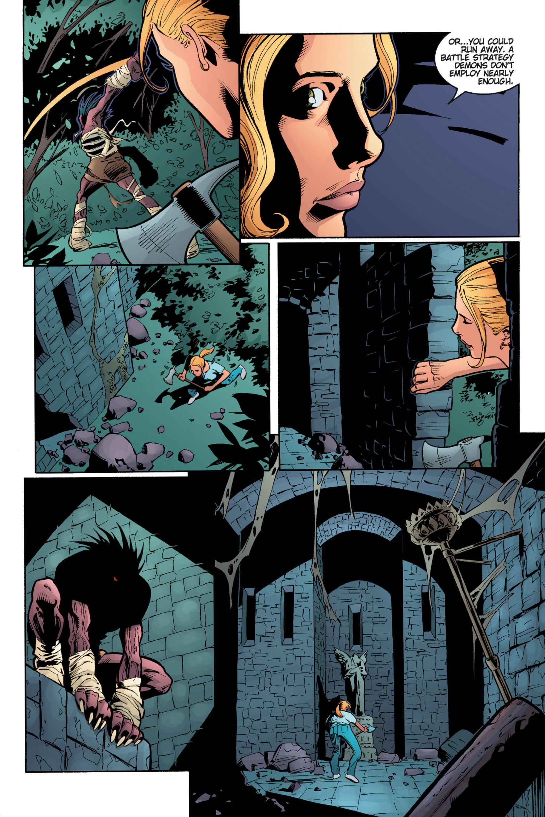 Read online Buffy the Vampire Slayer: Omnibus comic -  Issue # TPB 5 - 136