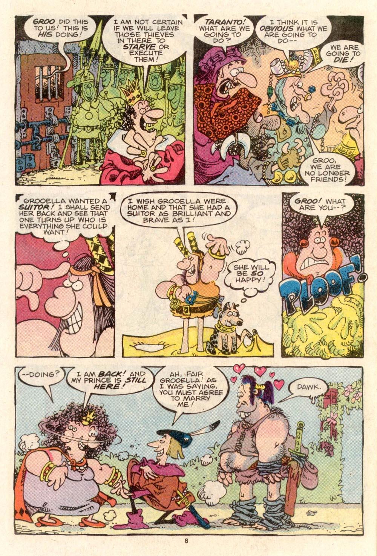Read online Sergio Aragonés Groo the Wanderer comic -  Issue #36 - 8