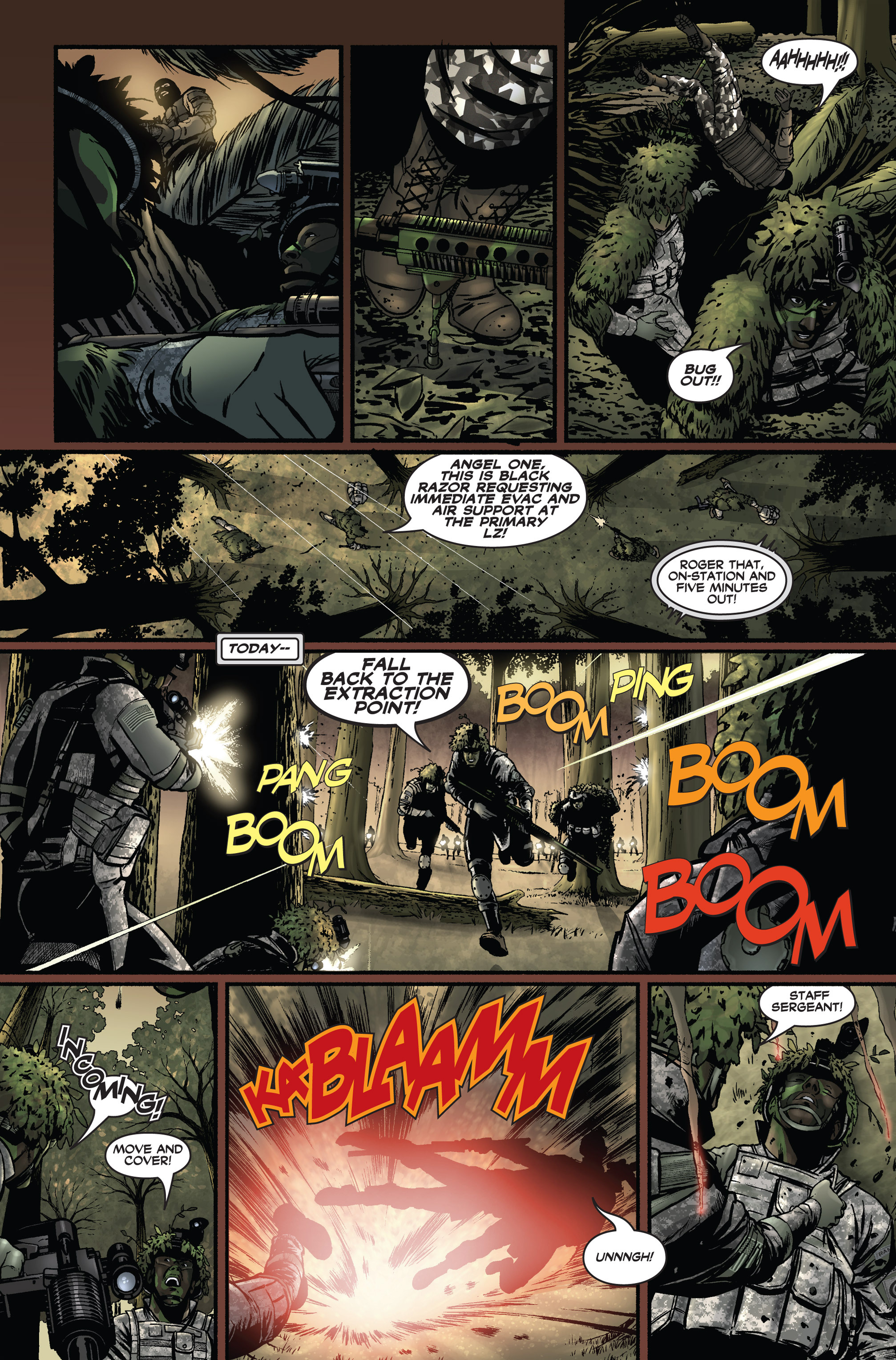 Read online America's Army comic -  Issue #1 - 19