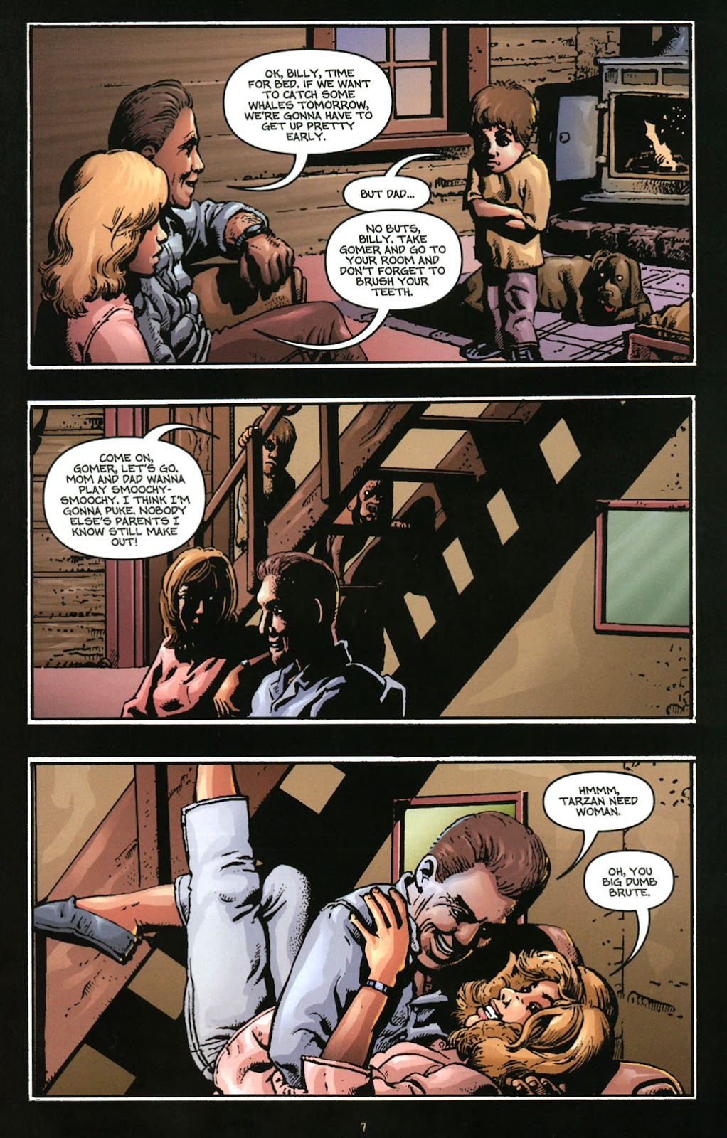 Bigfoot issue 1 - Page 9