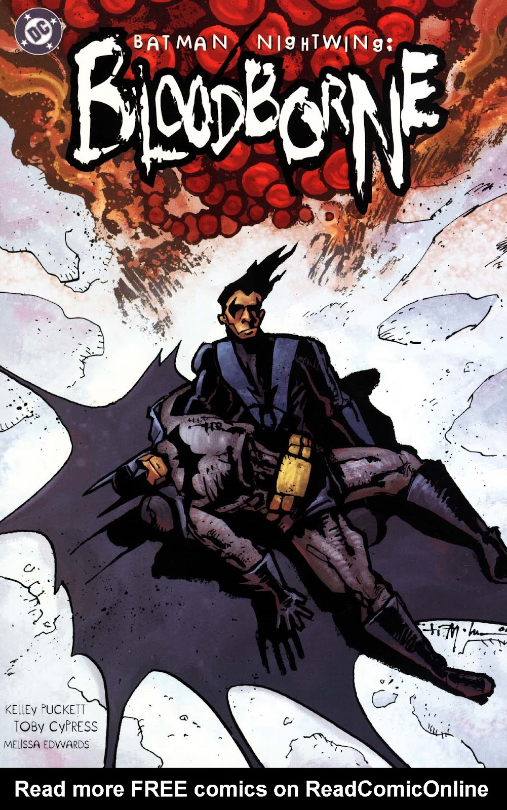 Batman/Nightwing: Bloodborne Full Page 1