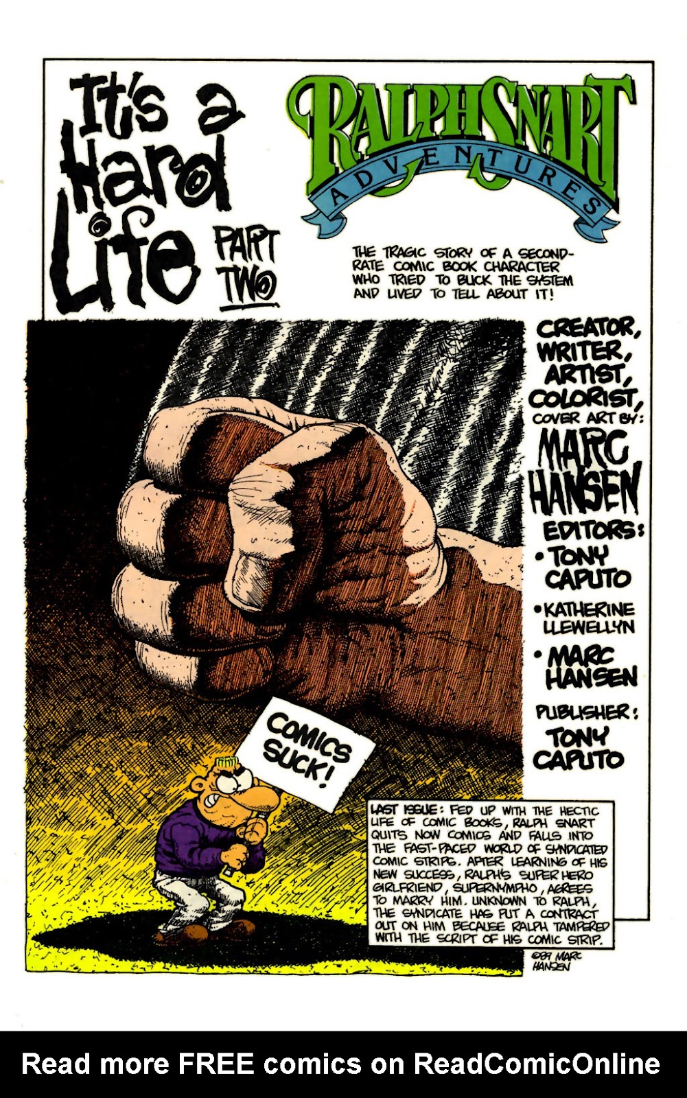 Ralph Snart Adventures (1988) issue 15 - Page 3