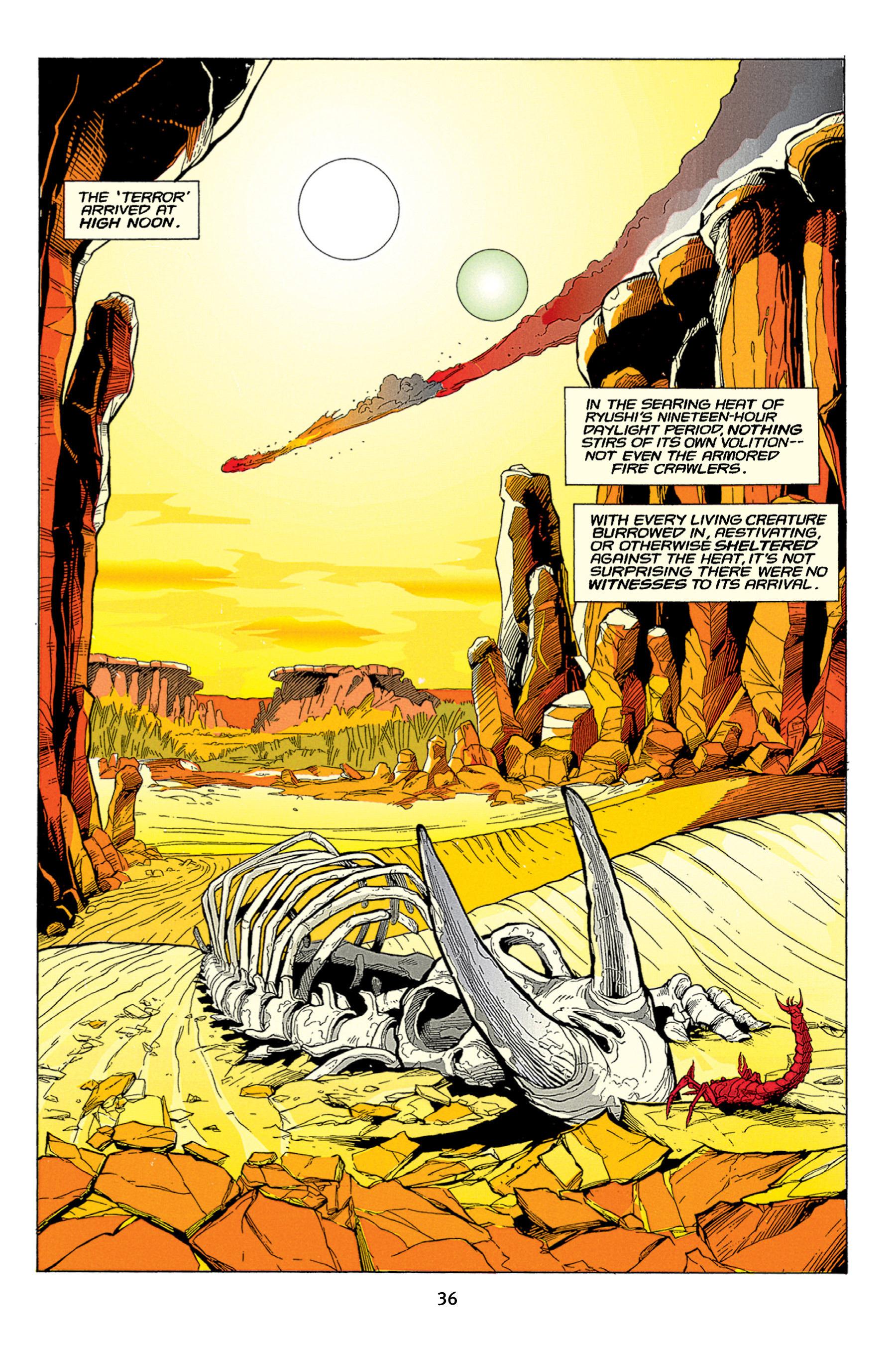 Read online Aliens vs. Predator Omnibus comic -  Issue # _TPB 1 Part 1 - 36