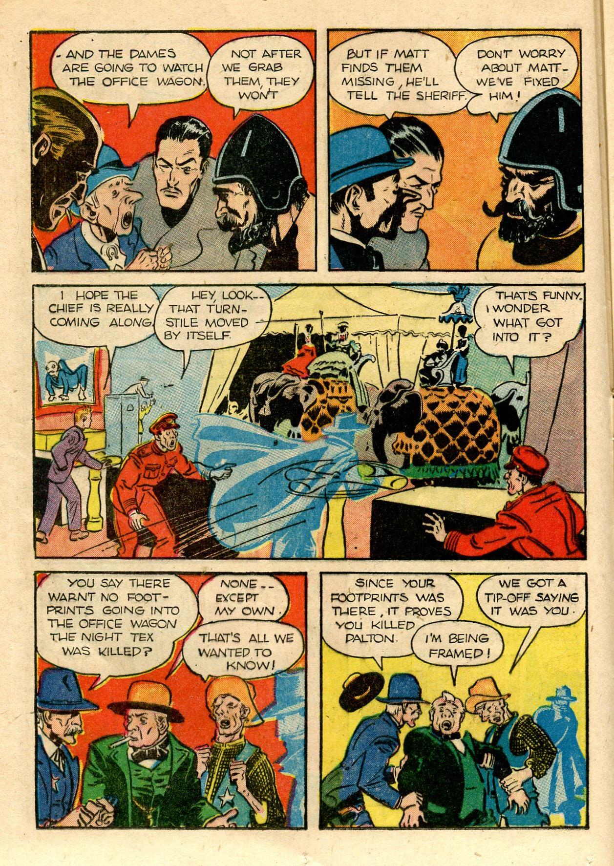 Read online Shadow Comics comic -  Issue #33 - 22