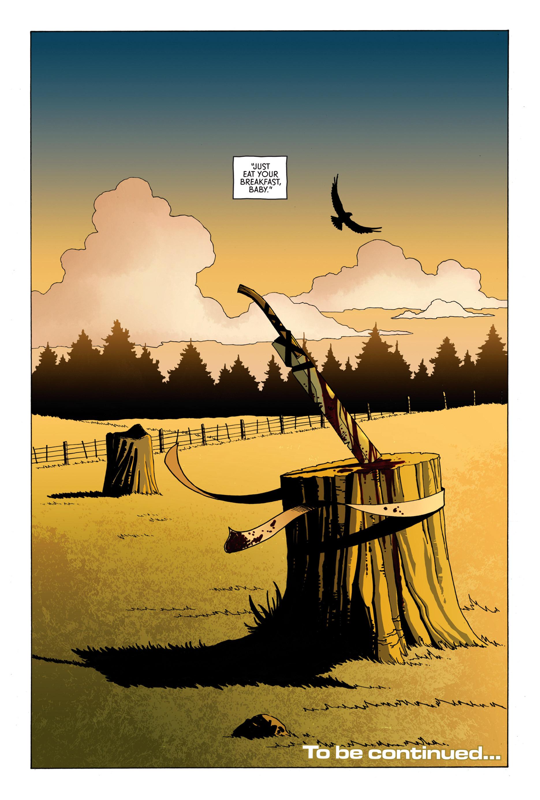 Read online Trespasser comic -  Issue #1 - 23