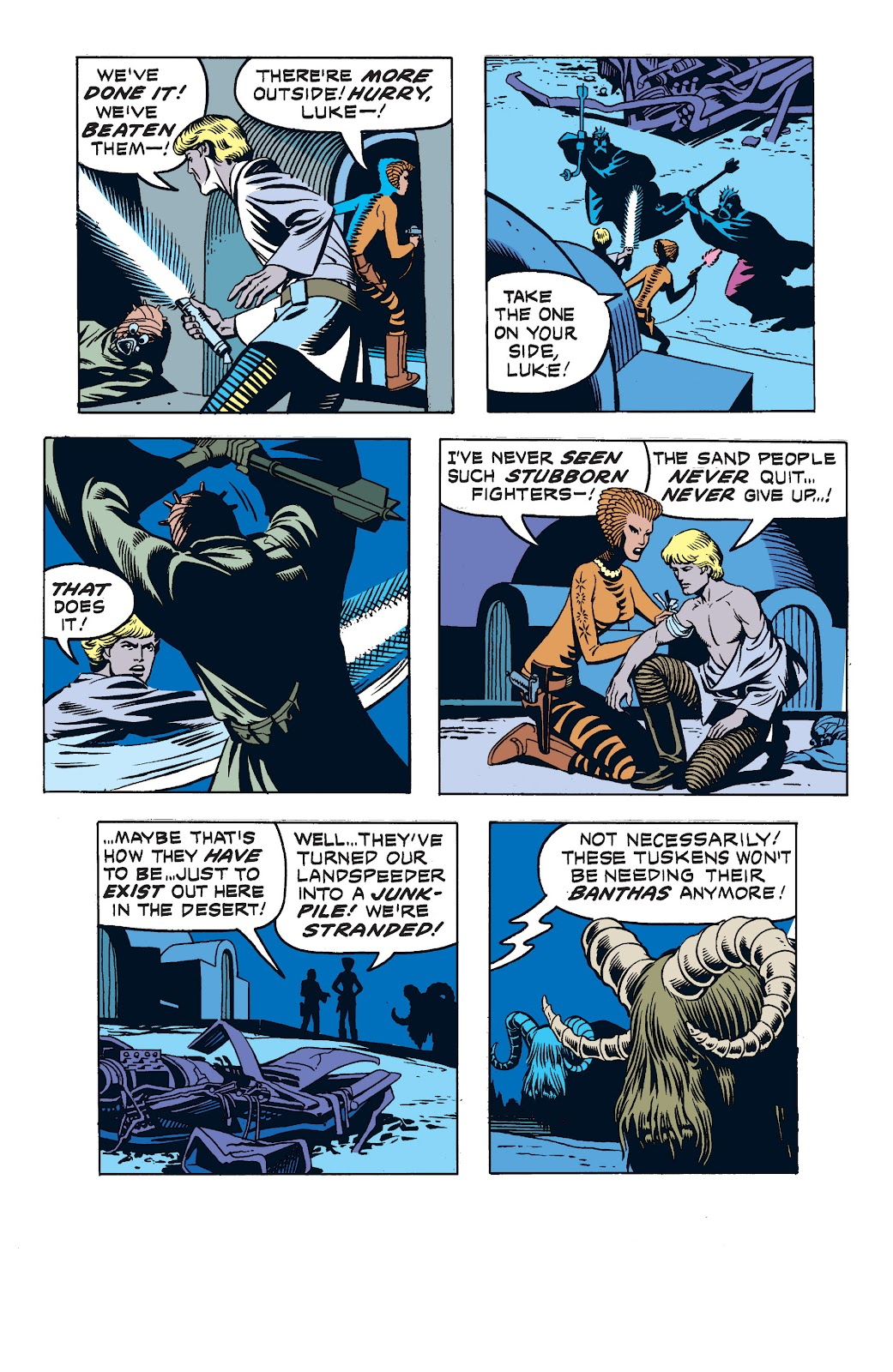 Read online Star Wars Legends: The Newspaper Strips - Epic Collection comic -  Issue # TPB (Part 2) - 35